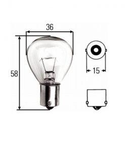 Žarulje U 12V 45W